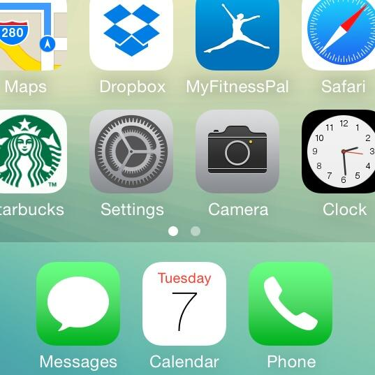 iOS 7.1 Icons