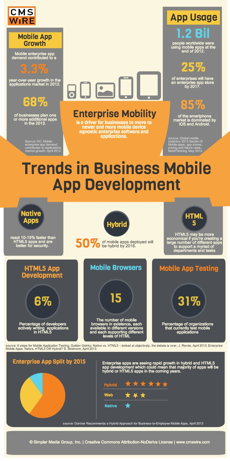 Mobile App Development Infographic